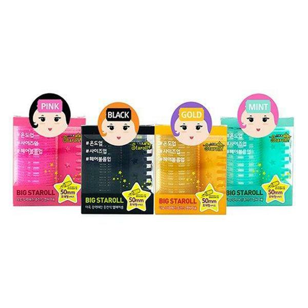 【STARROLL】USB髮捲 55mm (4色可選)