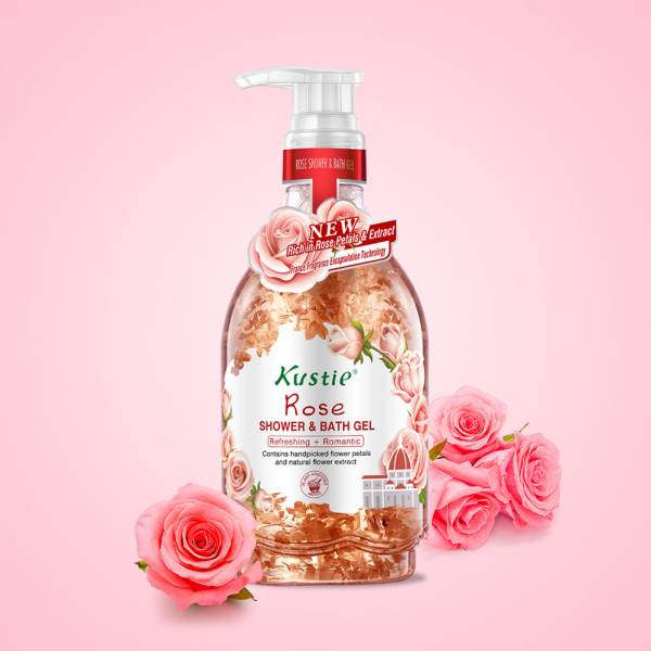 【Kustie】玫瑰清新沐浴乳 500ml