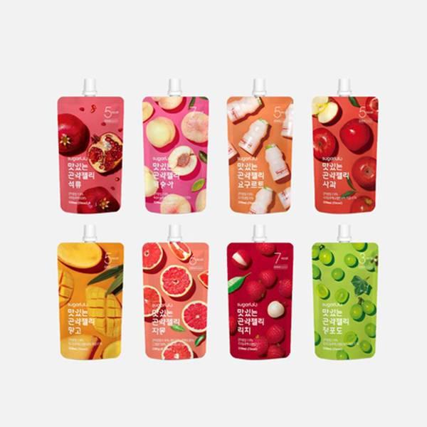 【INTAKE】美味低卡蒟蒻 8種口味 (150ml x 10包) 月星球,拜託了女神,dalnara,低卡蒟蒻,減肥,INTAKE,營養食品,低卡零食,減脂飲食,減肥零食
