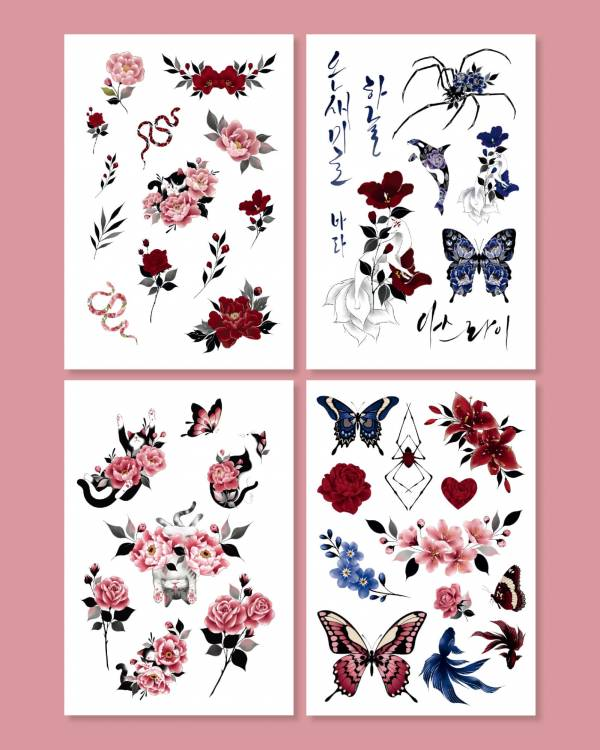 【TATTIST】我愛TATTOO韓國原創刺青貼紙 (BASIC)  月星球,拜託了女神,dalnara,klairs,眼部凝霜,眼部肌膚,眼霜,眼霜推薦