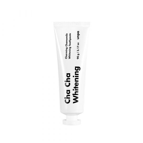 【unpa】 Cha Cha日用清潔牙膏 white 90g