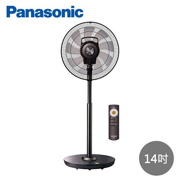 【Panasonic國際牌】14吋DC變頻nanoeX極淨型溫感立扇F-H14EXD-K