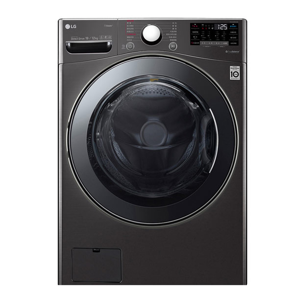 【LG樂金】19公斤WiFi滾筒洗衣機(蒸洗脫烘)WD-S19VBS(含基本安裝)