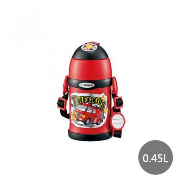 【象印】2WAY兒童專用(消防車)保溫保冷瓶 0.45L(SC-ZT45-RZ)