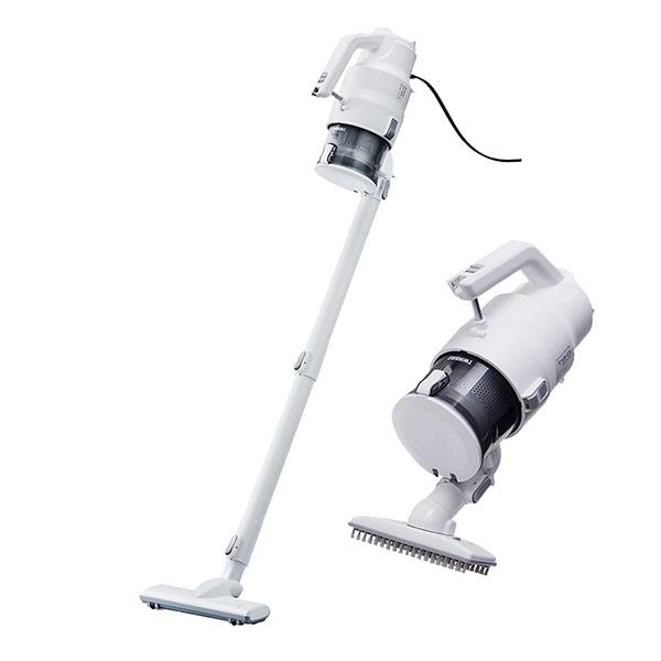 【福利品】TWINBIRD 手持式強力吸吹兩用吸塵器 (TB-G005DTW)-白