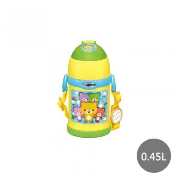 【象印】2WAY兒童專用(小熊)保溫保冷瓶 0.45L(SC-ZT45-YZ)