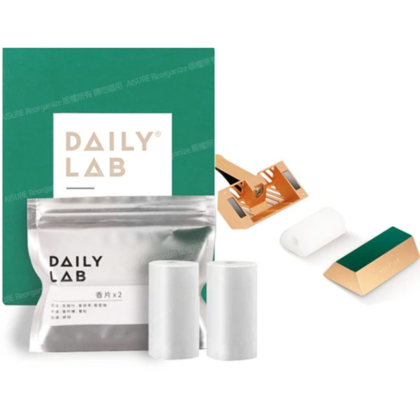 【DAILY LAB】720°香氛小金磚 / 香片補充包(車用香氛)