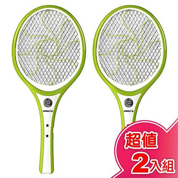 【日象】特大迴旋充電式電蚊拍 ZOEM-5188 (2入組)