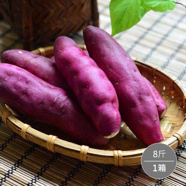 *地推團購*日本種金時栗子地瓜8斤