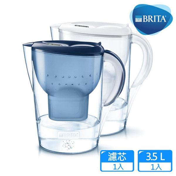 【BRITA】Marella馬利拉濾水壺(白色)