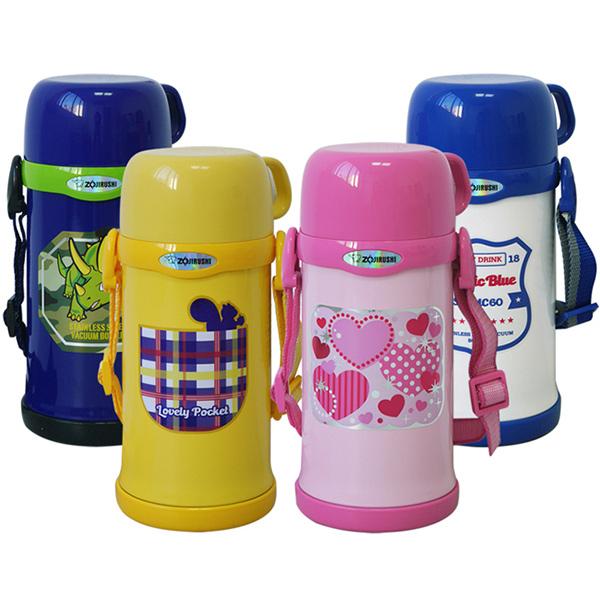 【象印】*0.6L*童用不鏽鋼真空保溫瓶 SC-MC60-(4色選1)