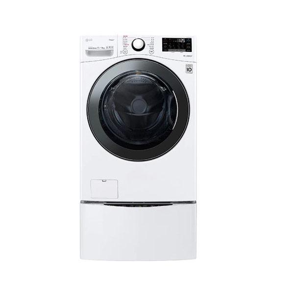 【LG】WD-S17VBD+WT-D250HW 17kg+2.5kg TWINWASH 雙能洗 滾筒式洗衣機 蒸洗脫烘