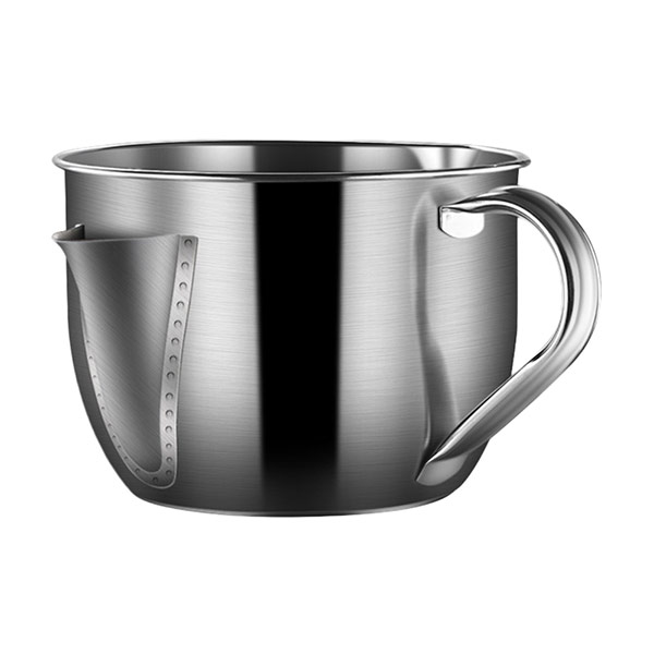 304不鏽鋼油水分離濾油碗壺