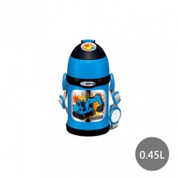 【象印】2WAY兒童專用(挖土機)保溫保冷瓶 0.45L(SC-ZT45-AZ)