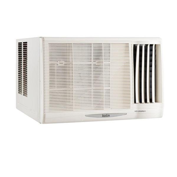 【Kolin歌林】4-5坪不滴水右吹窗型冷氣 KD-282R06(含基本安裝)