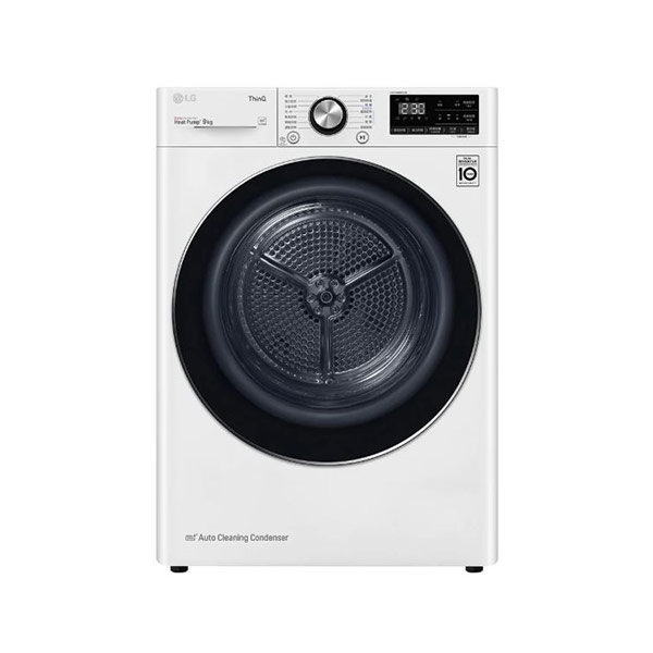 【LG】WR-90VW 9kg 免曬衣乾衣機 烘衣機 白色