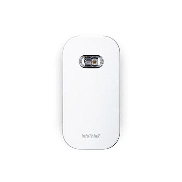【InfoThink】高效 UVC 超薄隨身殺菌機 防疫國家隊專業級UVC LED(白色)