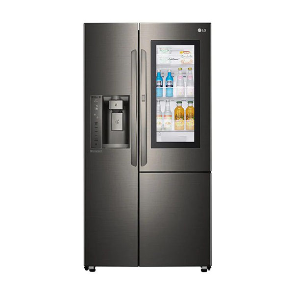 【LG】GR-QPL88BS LG直驅變頻對開式冰箱 敲敲看 761L 自動冰飲系統(需接水管)兌換送輝葉按摩槍 星夜黑