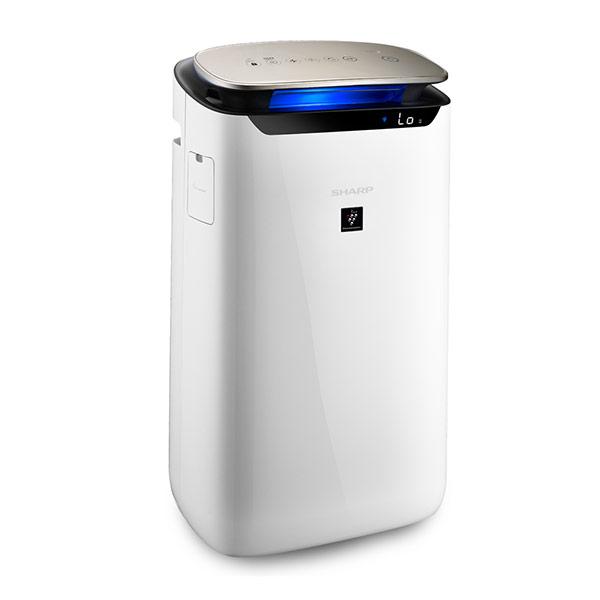 【SHARP 夏普】19坪自動除菌離子空氣清淨機FP-J80T-W