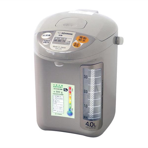 【象印】4公升寬廣視窗微電腦電動熱水瓶 CD-LPF40