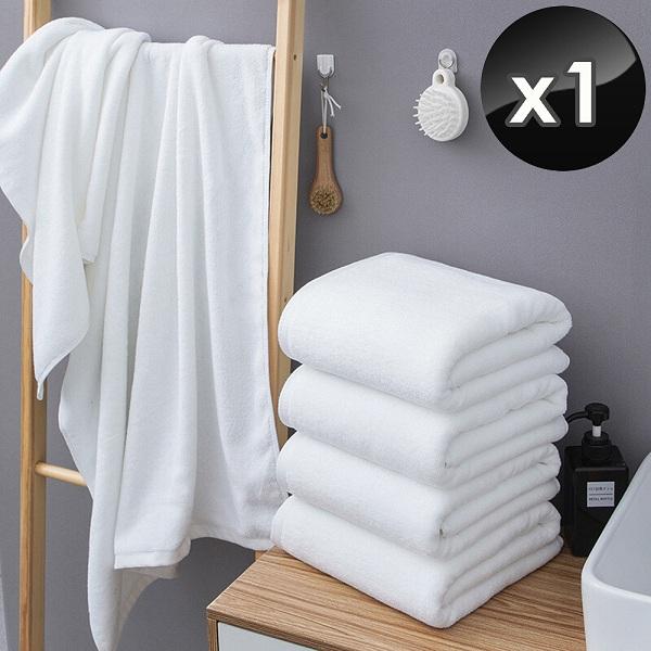 【HKIL-巾專家】台灣製純棉加厚重磅飯店大浴巾-1入組