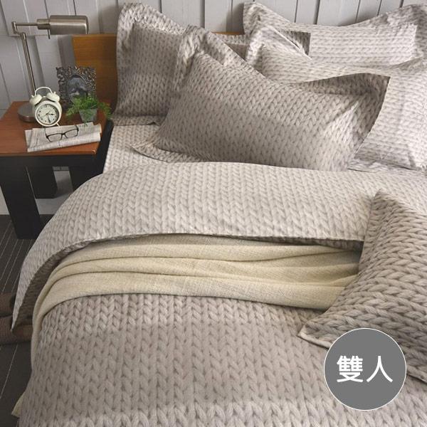 【青鳥家居】台灣製TENCEL 天絲四件式床包兩用被組明斯特(雙人)