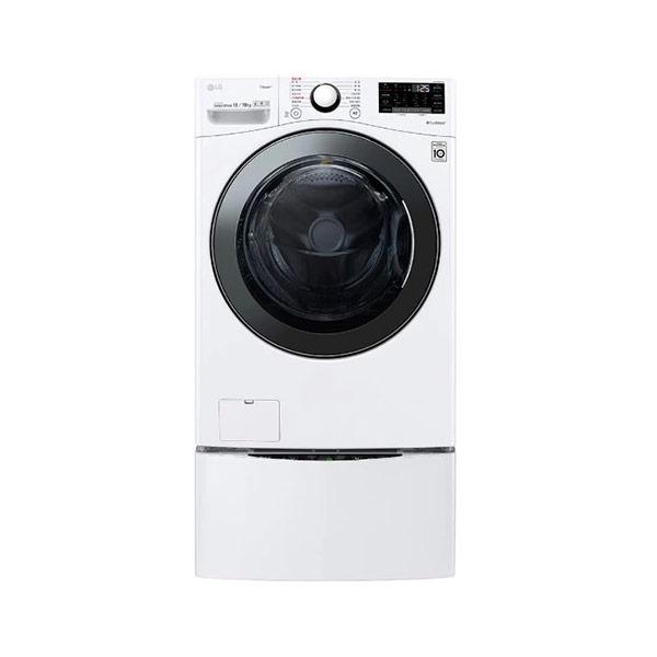 【LG】WD-S18VBD+WT-D250HW 18kg+2.5kg TWINWASH 雙能洗 滾筒式洗衣機 蒸洗脫烘