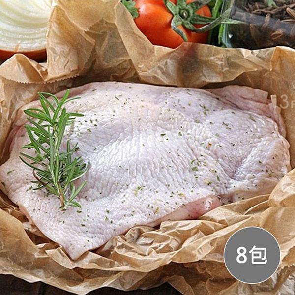【愛上吃肉】鮮嫩無骨雞腿排/單支裝 8包