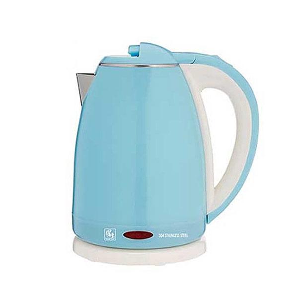 【鍋寶】1.8L雙層防燙不鏽鋼快煮壺 KT-1891B(藍)