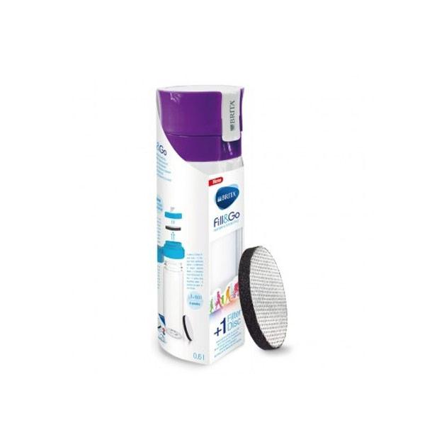 【BRITA】Fill&Go隨身濾水瓶(紫)
