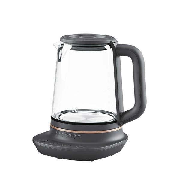 【Electrolux伊萊克斯】多功能玻璃溫控電茶壺E7GK1-73BP