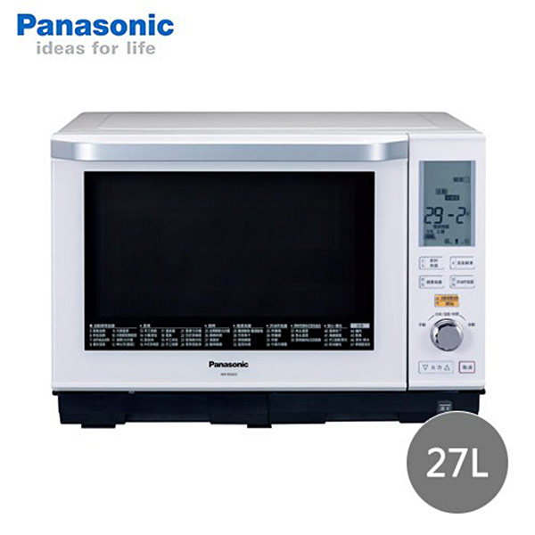 【Panasonic國際牌】27L蒸/烘/烤微波爐 NN-BS603