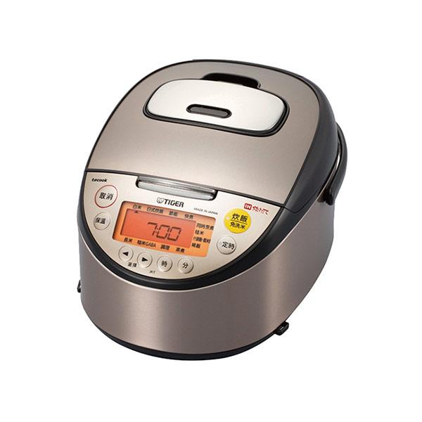 【TIGER虎牌】高火力IH六人份多功能炊飯電子鍋 JKT-S10R