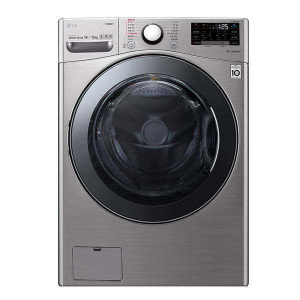 【LG樂金】18公斤WiFi滾筒洗衣機(蒸洗脫烘)WD-S18VCM(含基本安裝)
