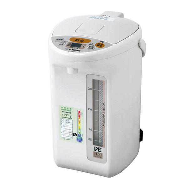 【象印】4公升SUPER VE真空省電微電腦電動熱水瓶 CV-TWF40