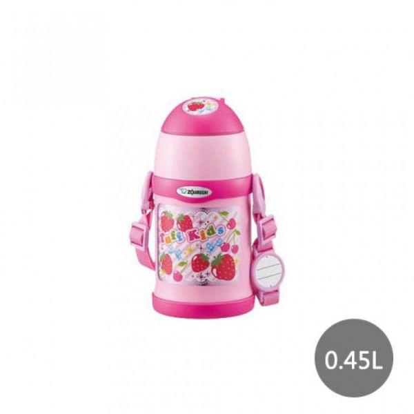 【象印】2WAY兒童專用(草莓)保溫保冷瓶 0.45L(SC-ZT45-PZ)