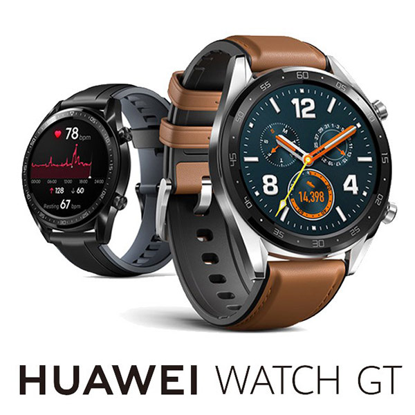 【HUAWEI】 藍牙手錶 WATCH GT (FTN-B19) 黑