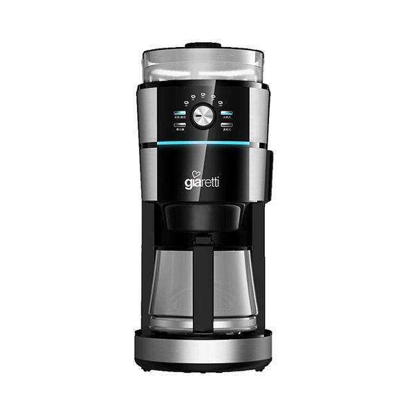 【Giaretti 吉爾瑞帝】10人份全自動研磨咖啡機 GL-918