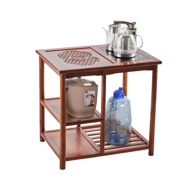 【SONGEN松井】雙享泡花梨木茶桌自動補水茶藝機(G-23加贈PC食品級淨水桶及茶渣桶)