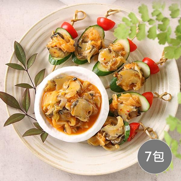 【愛上美味】黃金泡菜螺片 7包