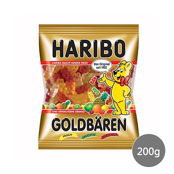 【哈瑞寶 HARIBO】小熊QQ水果軟糖(200g)