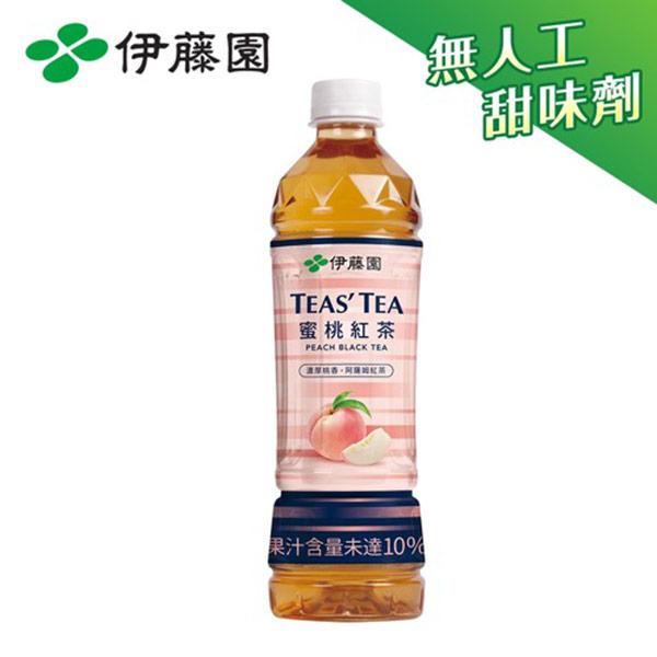 【伊藤園】TEAS'TEA 蜜桃紅茶PET535mL