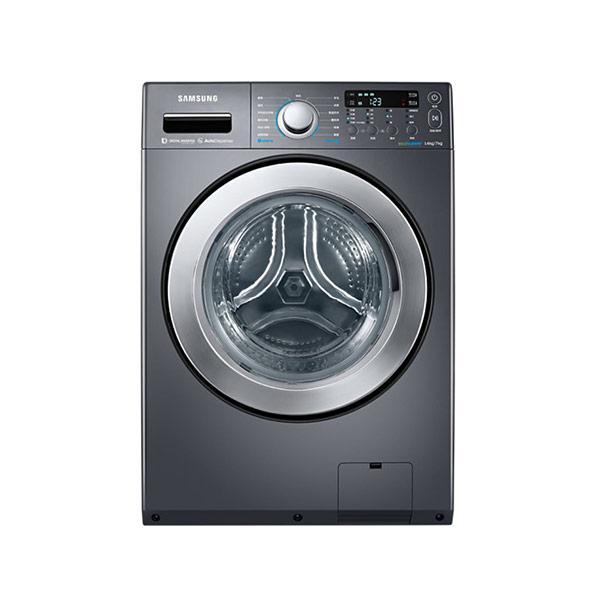 【SAMSUNG三星】14公斤變頻滾筒洗脫烘洗衣機WD14F5K5ASG/TW(黑色)(含基本安裝)