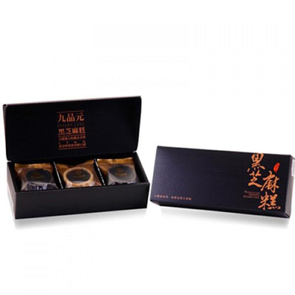 【九品元】頂級綜合芝麻糕(9入/盒)