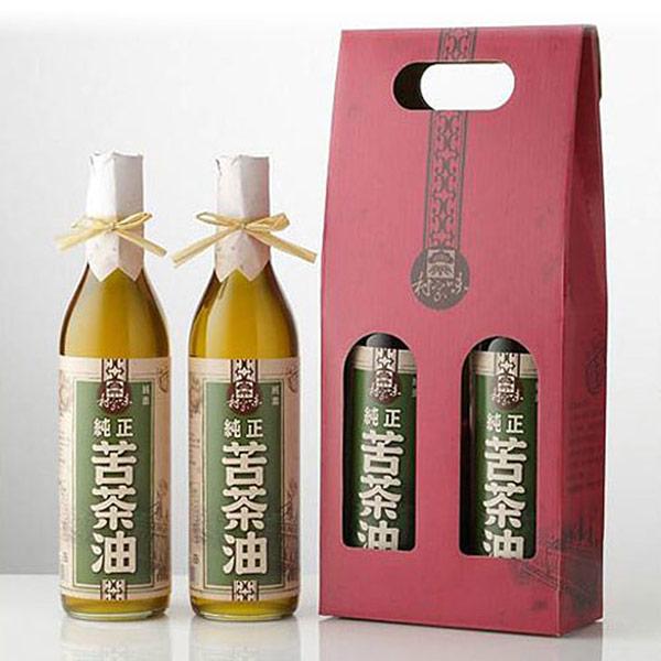【村家味】苦茶油禮盒 (600mlx2瓶/盒)