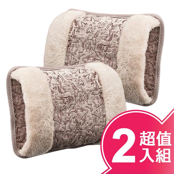 【東龍】雙向插手電熱敷袋/熱暖袋/電暖器(超值二入組) TL-1901