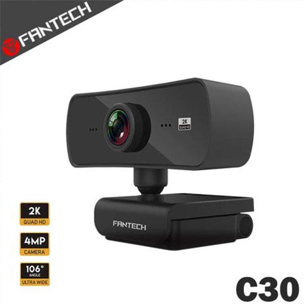 【FANTECH】C30 高畫質可旋轉式網路攝影機