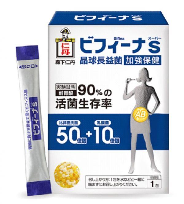 【森下仁丹】晶球長益菌(14入/包) 森下仁丹,益生菌