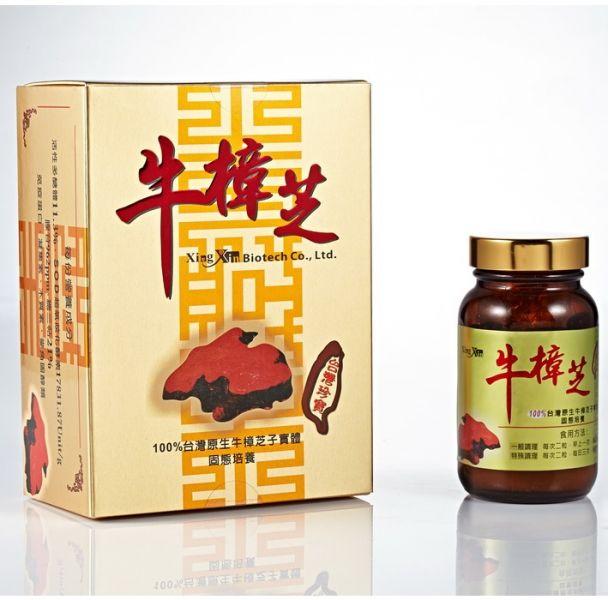 【杏心】牛樟芝膠囊(60粒/盒) 牛樟芝膠囊,杏心,牛樟芝膠囊