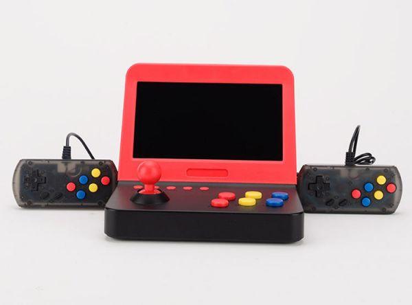 Retro Arcade RA 7吋版 AIWO大街機 支援八大模擬器 可輸出HDMI 可充電 適電玩裝飾 外型獨特